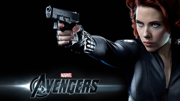 black widow-The Avengers 2012 HD Wallpapers Views:7471