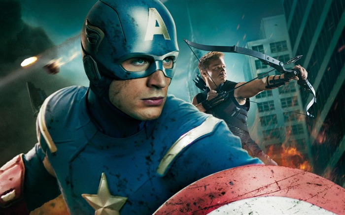 captain america -The Avengers 2012 HD Wallpapers Views:5650