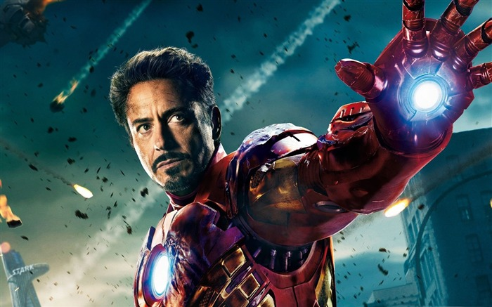 iron man in-The Avengers 2012 HD Wallpapers Views:6624