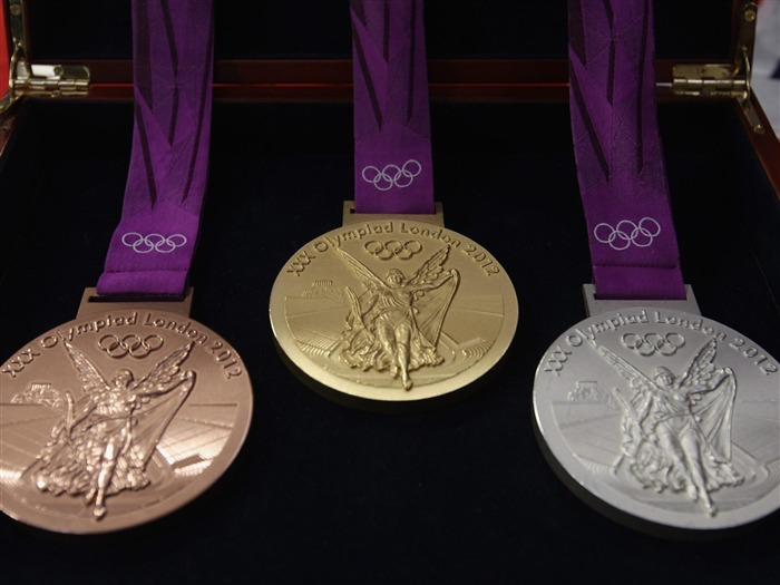 olympic medals -London 2012 Olympic Games Wallpaper Views:10852