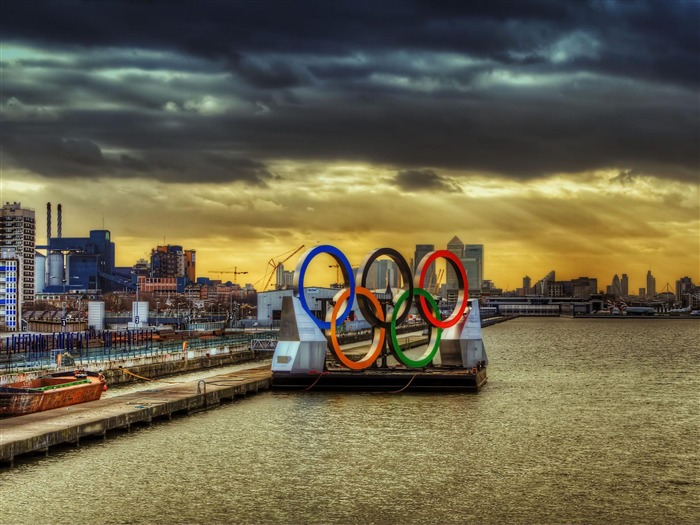 olympic rings-London 2012 Olympic Games Wallpaper Views:16929