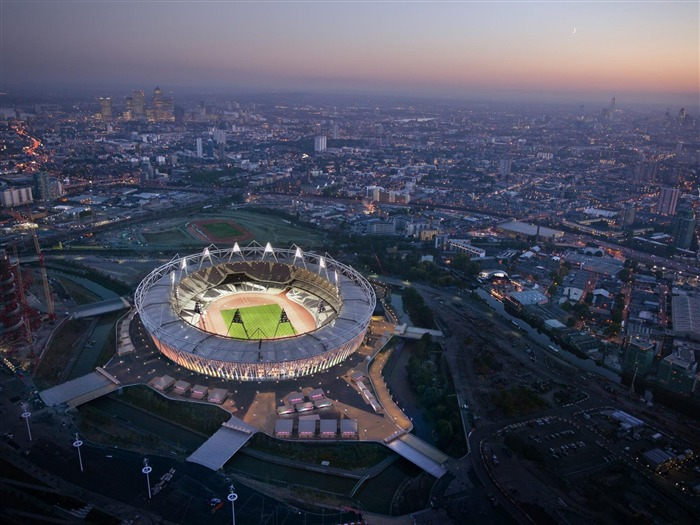 olympic stadium-London 2012 Olympic Games Wallpaper Views:18004