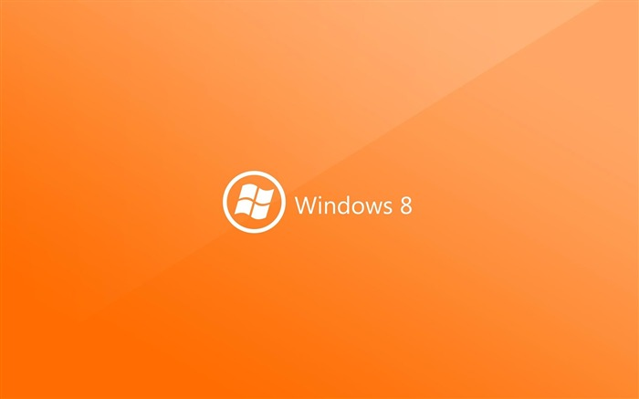orange-Microsoft Windows 8 system wallpaper Views:5303