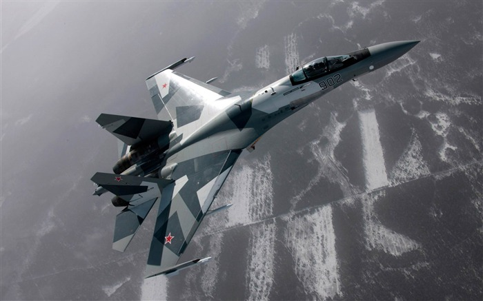 sukhoi su 27 01-Military aircraft HD wallpaper Views:7121