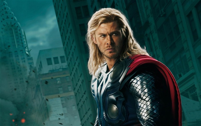 thor and captain america-The Avengers 2012 HD Wallpapers Views:8283