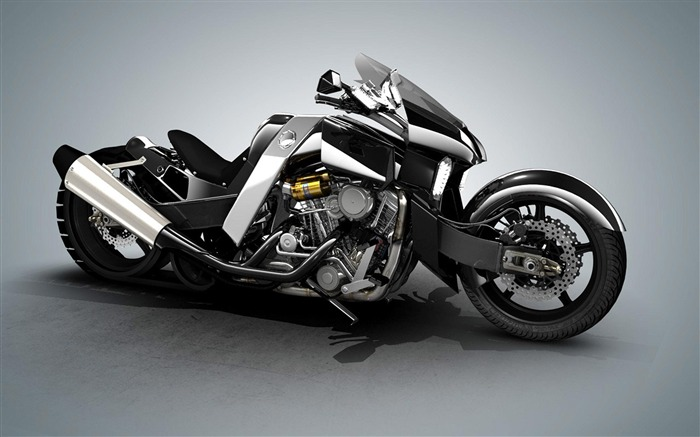 yamaha vmax render vacuita-Top Sportbike photo wallpaper Views:9312
