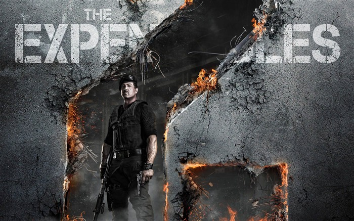2012 The Expendables 2 HD Movie Wallpaper 03 Views:5526