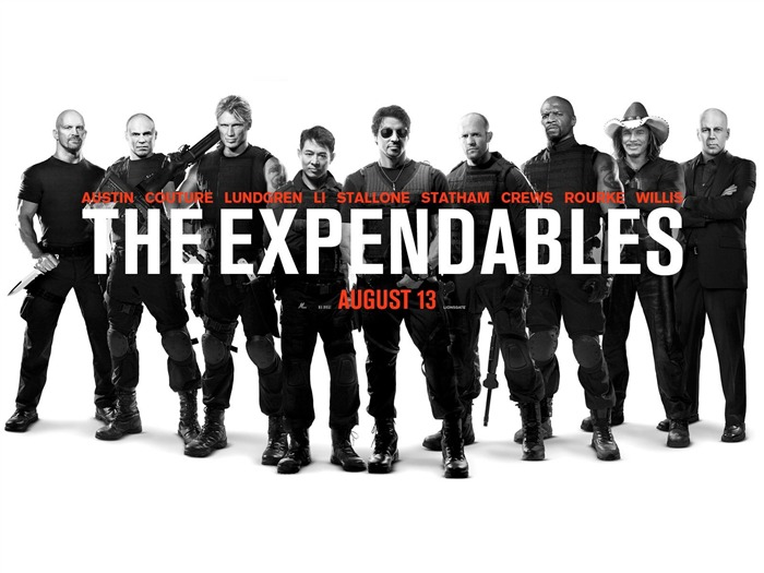 2012 The Expendables 2 HD Movie Wallpaper 06 Views:5716