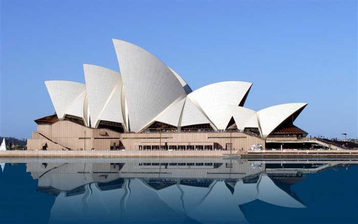 Australia Opera House Sydney-City Landscape Wallpaper Views:31185