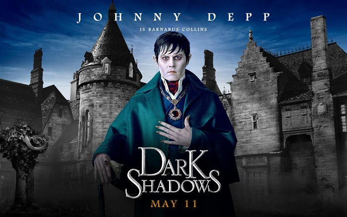 Dark Shadows 2012 American TV series HD Wallpaper Views:9472