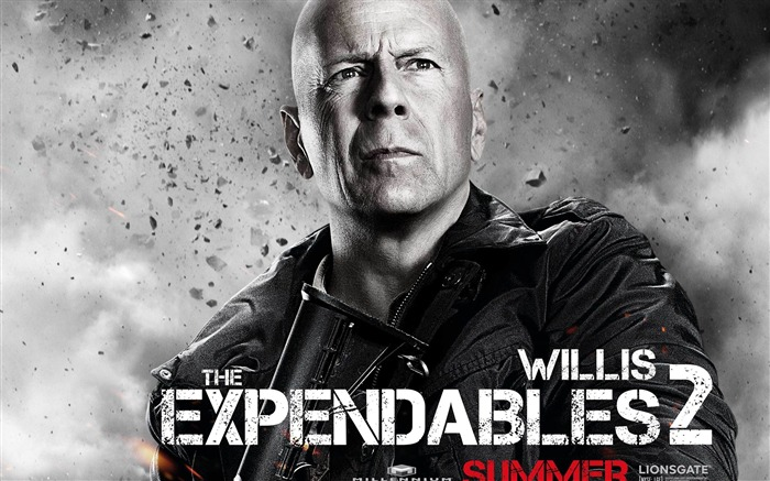 Bruce Willis-The Expendables 2 HD Movie Wallpaper Views:7420