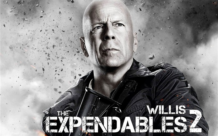 Bruce Willis -The Expendables 2 HD Movie Wallpaper Views:5506