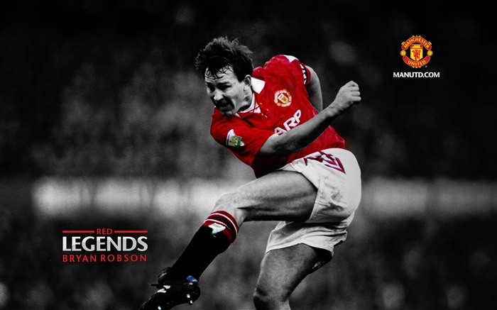 Bryan Robson-Red Legends-Manchester United wallpaper Views:22156