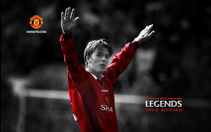 David Beckham-Red Legends-Manchester United wallpaper Views:60300