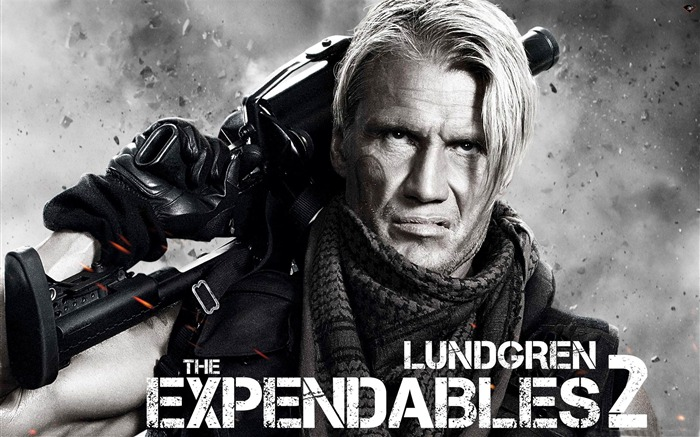 Dolph Lundgren-The Expendables 2 HD Movie Wallpaper Views:23860