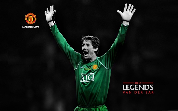Edwin VanDerSar-Red Legends-Manchester United wallpaper Views:22206