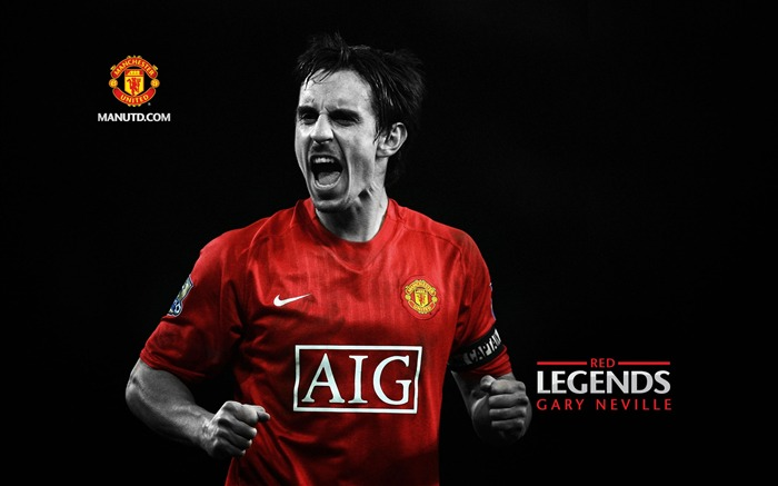 Gary Neville-Red Legends-Manchester United wallpaper Views:21278