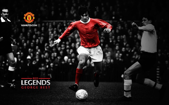 George Best-Red Legends-Manchester United wallpaper Views:39816