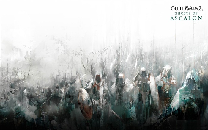 Guild Wars 2 Game Wallpaper ghosts of ascalon Views:4344