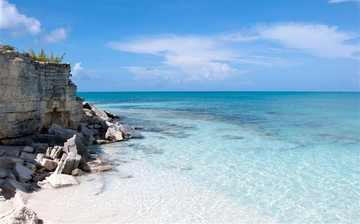Half Moon Bay Turks and Caicos-Landscape photography wallpaper Views:5595