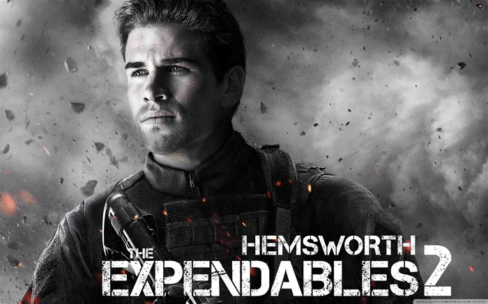 Hemsworth-The Expendables 2 HD Movie Wallpaper Views:9041