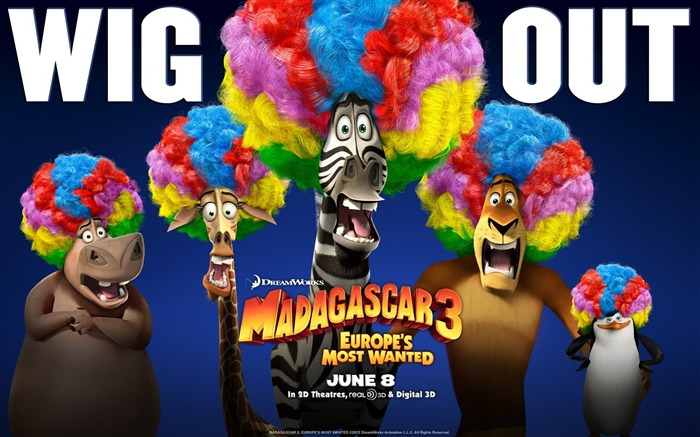 Madagascar 3 Europes Most Wanted Movie Wallpaper Views:6577