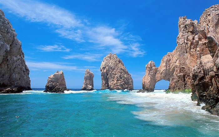 Mexico beaches-natural scenery wallpaper Views:63006
