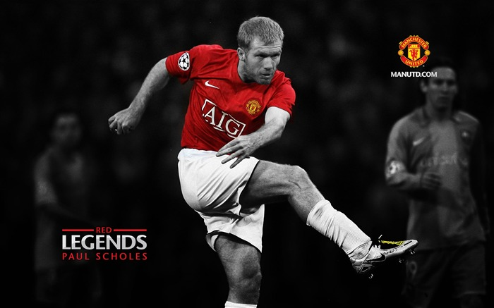 Paul Scholes-Red Legends-Manchester United wallpaper Views:50245