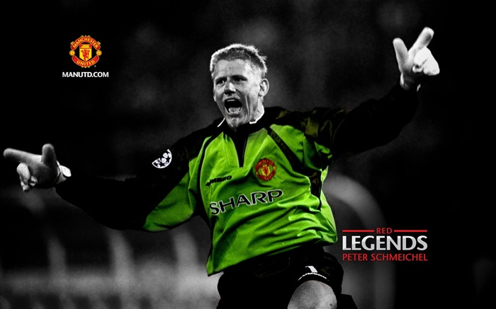 Peter Schmeichel-Red Legends-Manchester United wallpaper Views:18941