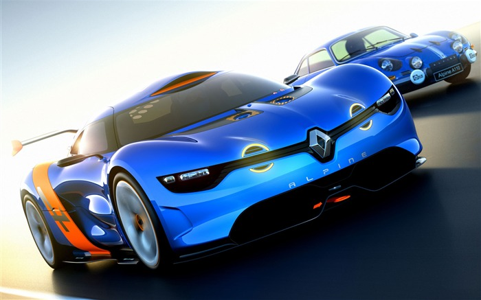 Renault Alpine A110-50 Concept Car Wallpaper Views:7361