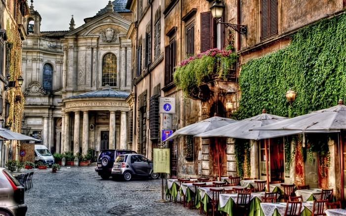 Roma Street-City Landscape Wallpaper Views:11794