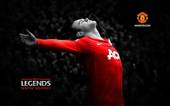 Title:Rooney-Red Legends-Manchester United wallpaper Views:36318