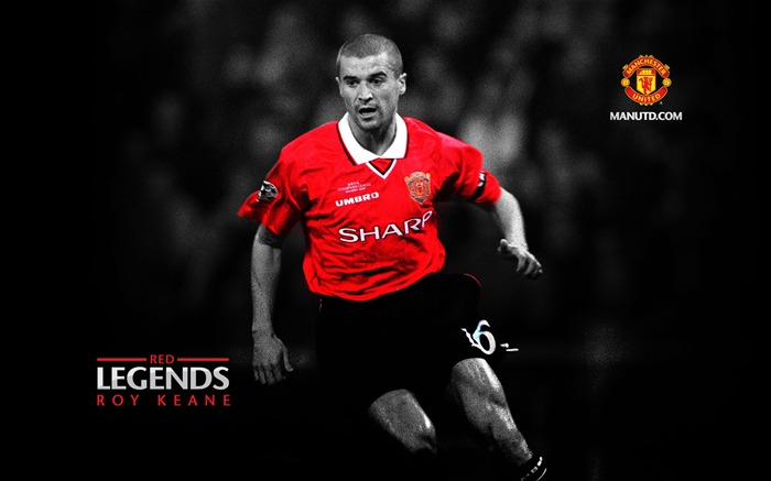 Roy Keane-Red Legends-Manchester United wallpaper Views:23831