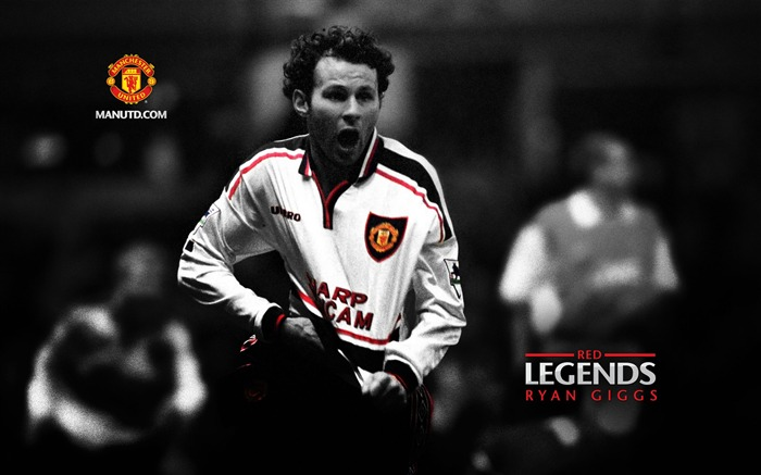 Ryan Giggs-Red Legends-Manchester United wallpaper Views:31466