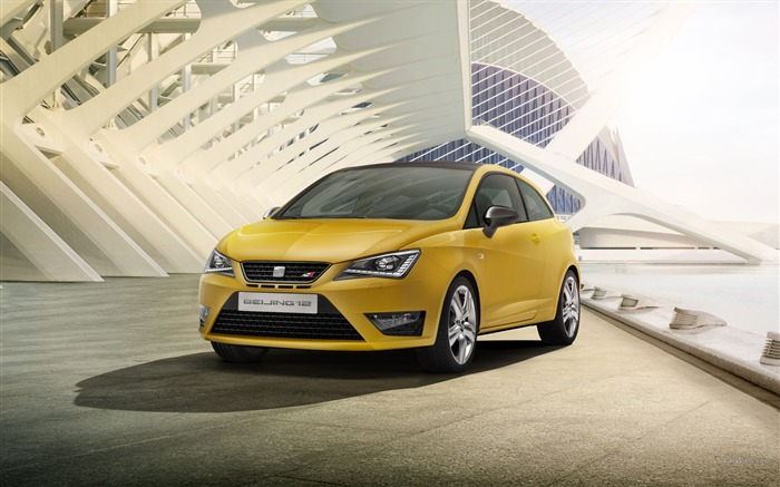 Seat Ibiza Cupra Concept Car HD Wallpaper Views:5692