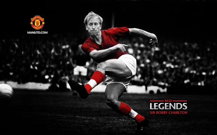 Sir Bobby Charlton-Red Legends-Manchester United wallpaper Views:25378