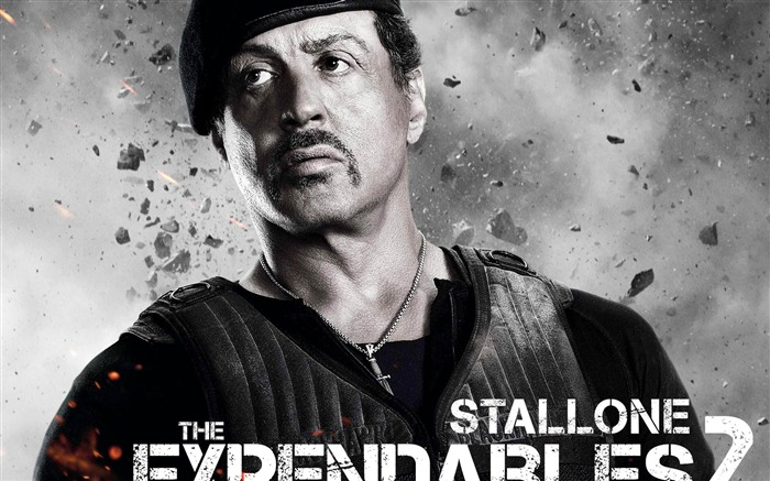 Sylvester Stallone-The Expendables 2 HD Movie Wallpaper Views:17816