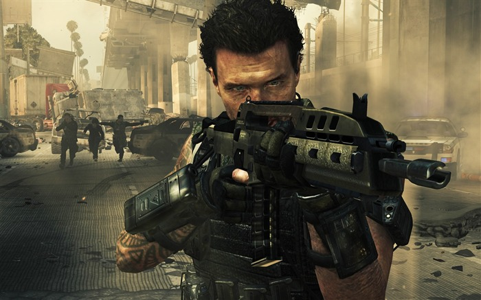 The Call of Duty-Black Ops II Game HD Wallpapers 03 Views:3332