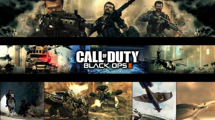 The Call of Duty-Black Ops II Game HD Wallpapers 07 Views:3124