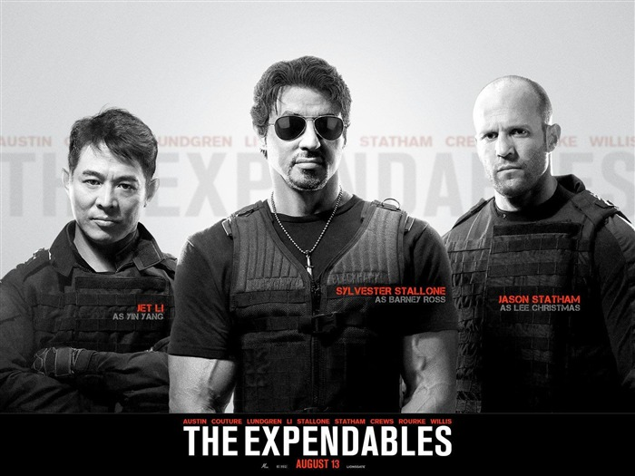 The Expendables 2 HD Movie Wallpaper 01 Views:4255