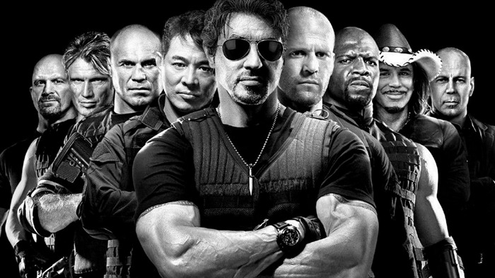 The Expendables 2 HD Movie Wallpaper 03 Views:21019