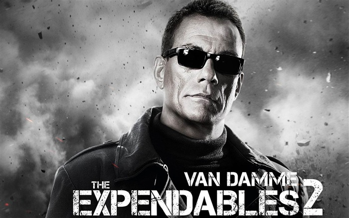 Van Damme-The Expendables 2 HD Movie Wallpaper Views:22330