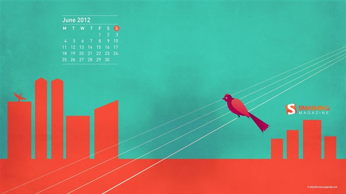 Without Angry-June 2012 calendar wallpaper Views:2278