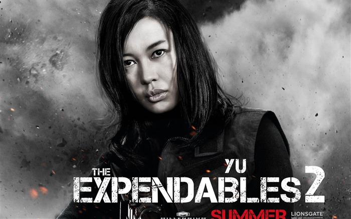 YU NAN-The Expendables 2 HD Movie Wallpaper Views:12261