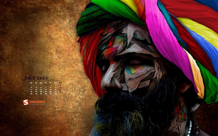 chromatic baba-June 2012 calendar wallpaper Views:4435