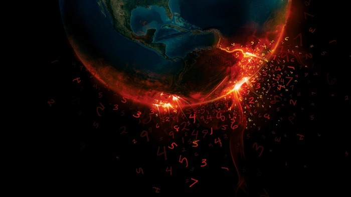 earth burn-universe photography wallpaper Views:4664
