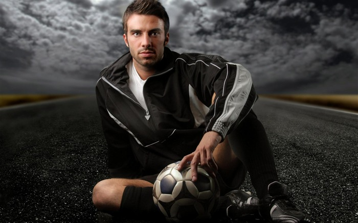 football player-Sport wallpaper Views:6120