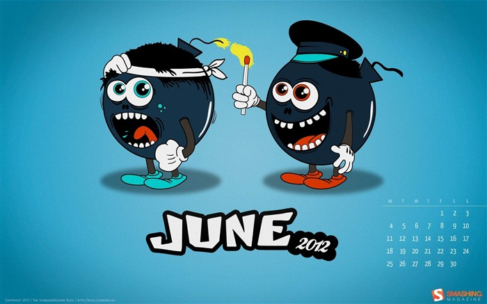 friendly fire-June 2012 calendar wallpaper Views:3656