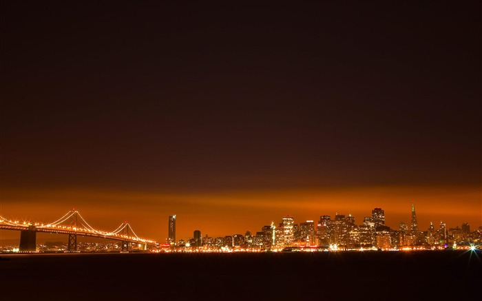 golden gate San Francisco-City Landscape Wallpaper Views:5753