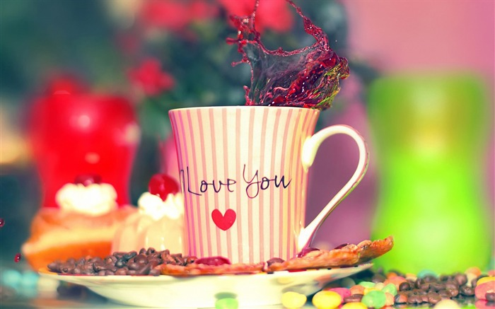 i love you cup-love wallpaper Views:4839